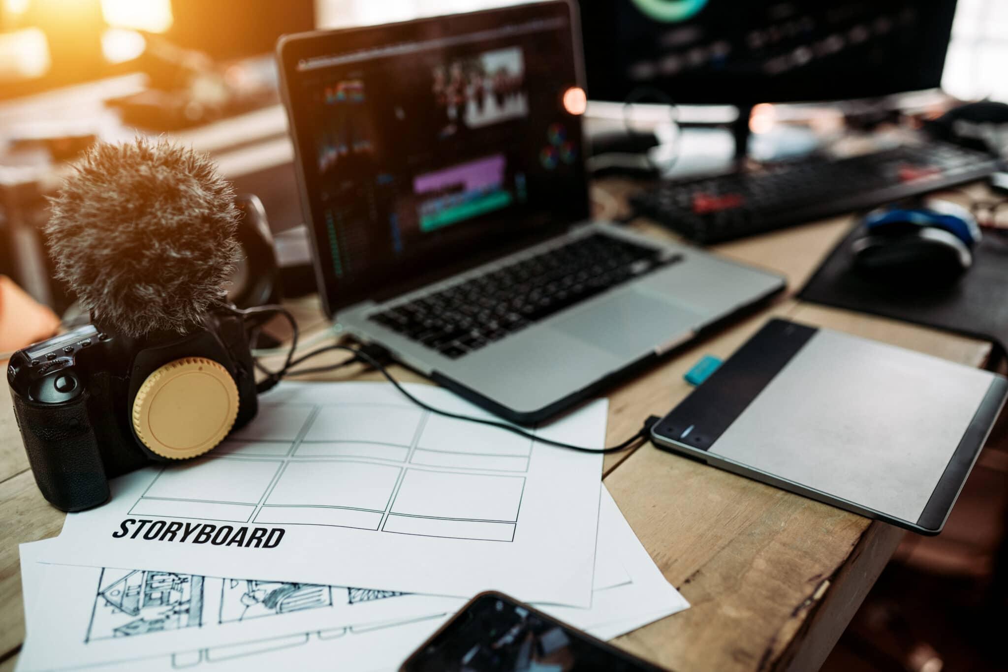 editing workspace